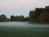 29 Misty evening in Market Bosworth