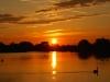 48 Burnt orange sky at Bosworth Water Park